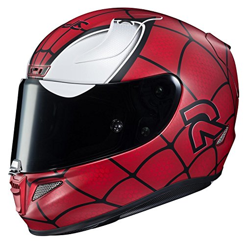 HJC Helmets Rpha 11 Pro Casque Marvel Spiderman Mc-1sf (Rouge, Medium)