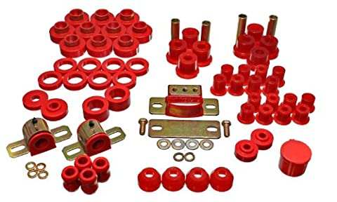 Energy Suspension 2.18102R Master Kit for Jeep CJ5 / CJ7 by Energy Suspension