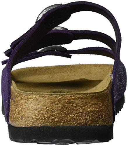 Grace Senhoras Couro violeta Papillio Florida Mulas Violeta YO4Yqr