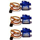 MR-Onlinehandel ® 3x Turnigy Eco Micro Servo TG9e 9g 1,5kg 0,10sec T-Rex HK CopterX 450