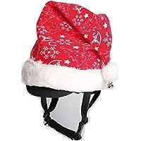 Harry's Horse Weihnachts-Mütze für Reithelm Noël Plüschbommel, Glöckchen