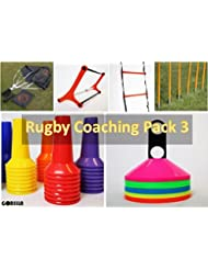 Rugby entrenamiento Pack 3