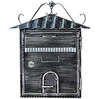 XSSD002 Buzón de Villa Europeo, Caja de facturas al Aire Libre, Letra de Caja