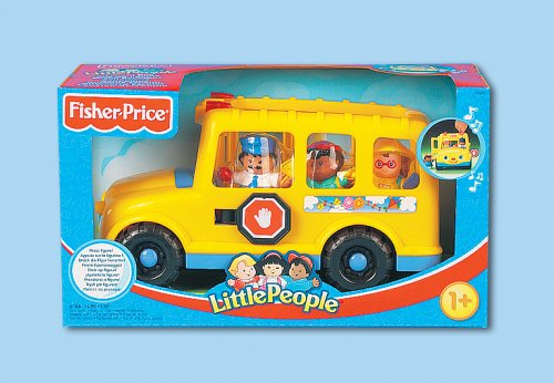 Little People-spielzeug-bus (Mattel - Fisher-Price Little People 77976-0 - Schulbus)