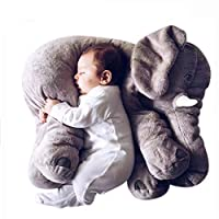 Tickos Long Nose Elephant Cushion Soft Pillow Stuffed Animal Plush Toy