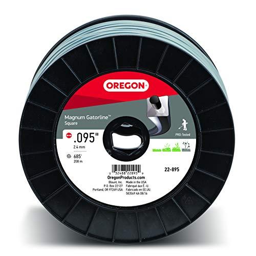 Oregon 22-895 Gatorline Robuste Professionnel Magnum .095-inch-by-685-foot, 1,4 Kilogram Bobine de Fil carré Débroussailleuse Ligne