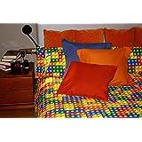 Juego de sábanas estampado LEGO (para cama de 135x190/200)