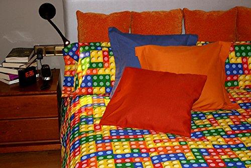 Funda nórdica estampada LEGO (Para cama de 135x190/200 (Nórdico de 220))