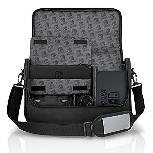 BD&A Bensussen Deutsch & Associates Everywhere Messenger-Bag zur Aufbewahrung von Spielkonsolen, kompatibel mit Nintendo Switch