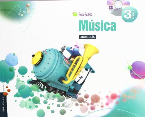 Música 3º Primaria (Andalucia) (Pixepolis) - 9788426385680