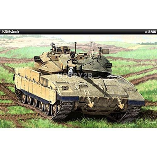 Academy 1/35 MERKAVA MK.IID Israel Defense forces Plastic Model Kit #13286