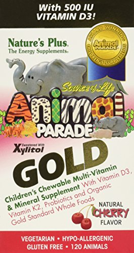 natures-plus-animal-parade-gold-childrens-chewable-multi-vitamin-mineral-cherry-flavour-120-animals