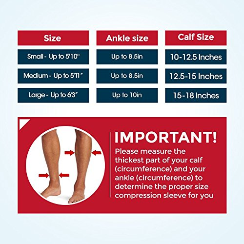 Calf-Compression-Sleeve-Leg-Compression-Socks-for-Shin-Splint-Calf-Pain-Relief-Men-Women-and-Runners-Calf-Guard-for-Running-Cycling-Maternity-Travel-Nurses