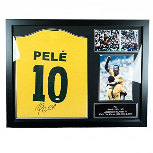 Brasil-Pele-Signed-Shirt-Framed-Official-Merchandise