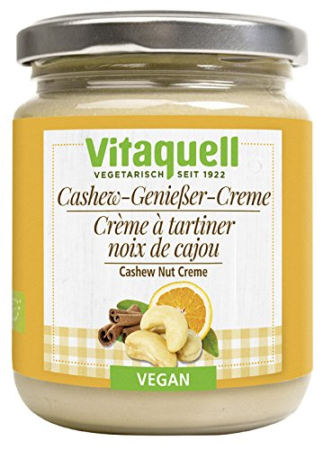 Vitaquell Cashew Genießer Creme - Bio - 250g
