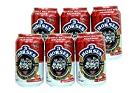 3 Horses Non Alcoholic Beverage - Pack of 6 (330ml Each) (Strawberry)