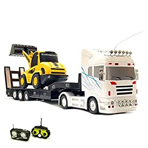 rc ferngesteuerter xxl truck bagger beide modelle. Black Bedroom Furniture Sets. Home Design Ideas