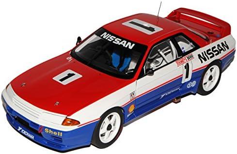 Nissan Skyline GT-R R32 Bathurst Winner Nr 1 Coupe 1989-1993 89180 1/18 AutoArt Modell Auto mit individiuellem Wunschkennzeichen | Excellente Qualité