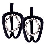 Sharplace 2er Pack Damen Reizwäsche C-String Thong Beutel Tanga Unterwäsche Unterhose Strings Thong - 2xSilber, wie beschrieben