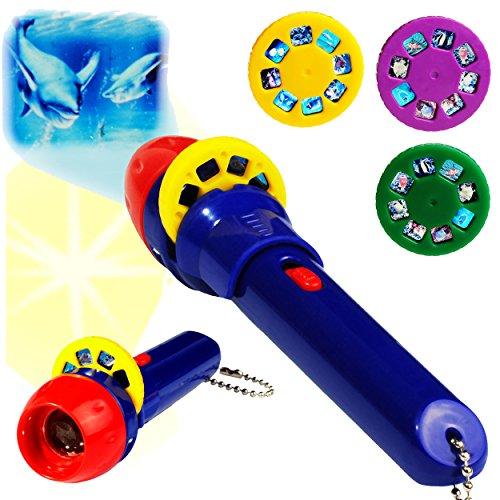 5 Stück _ Taschenlampen LED Projektion -