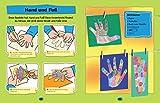 Bastelbuch für Kinder ab 2 Jahren: Falten, Kleben, Malen -