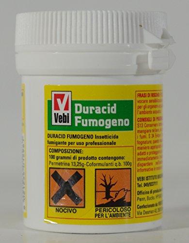 Duracid Fumogeno - Insecticide fumigant - Boîte de 11 g