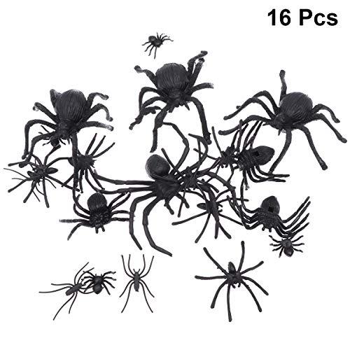 Halloween Gefälschte Spinne Halloween Scary Dekorationen Halloween Gag Spielzeug Halloween Party Favors ()