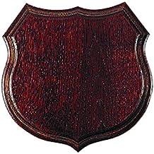 1x Panel de madera de fresno para trofeo de jabali 20x19cm taxidermia cod 030502