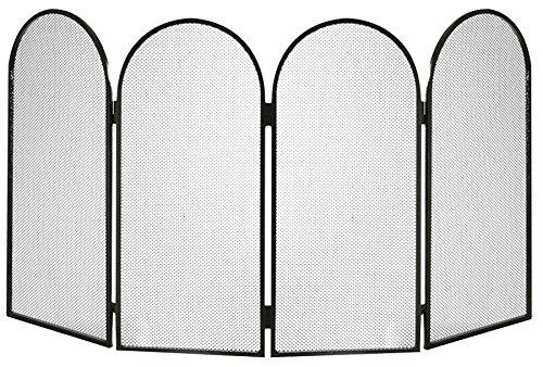 k2calore kt0559–Display Schmiedeeisen (Funktion Rette Funkenschutz, 95x 50cm)
