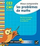 Mini chouette mieux comprendre les problèmes de maths CE2/CM1 8-10 ans