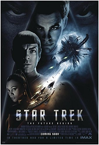 Póster Star Trek XI