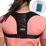 InnoTi Corrector de Postura Espalda para Hombre y Mujer - Soporte para Mantener los Hombros y la Espalda Recta - Ajustable y de Material Suave y Transpirable para el Máximo Confort
