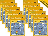 10x mindmemo Lernfolder - Erste Schritte - Deutsch für Anfänger - spielend Deutsch lernen Kinder Vokabeln lernen mit Bildern Lernhilfe Zusammenfassung Sonderauflage im Klassensatz - 10er Set DIN A4 6 Seiten