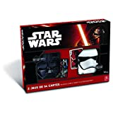 Shuffle Star Wars - Coffret 2 masques Darth Vader + Stormtrooper - Jeu de cartes
