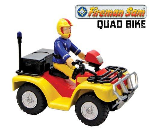 Image of Fireman Sam Quad Bike with Sam Figure