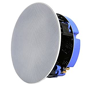echo dot compatible bluetooth ceiling speaker single. Black Bedroom Furniture Sets. Home Design Ideas