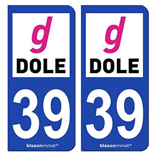 2-autocollants-de-plaque-dimmatriculation-auto-39100-dole-agglo