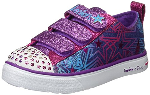 Skechers Twinkle Breeze Comet Cutie, Sneakers Basses Fille Multicolore (Dmlt)
