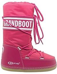 Kefas - Grandboot - Doposci Boot Uomo Donna Bambino - Fuxia - Taglia 23 25 d8a64bdad8f