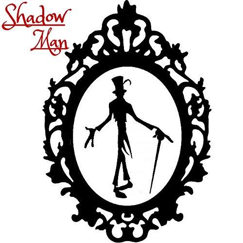 Disney Villain Schurke Silhouette Halloween Gothic Sticker Aufkleber Shadow Man Voodoo Wall Window Home Haunted Haus Vinyl Abziehbild Decal