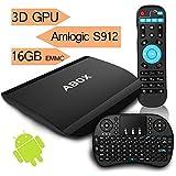 [Gratuito Mini Tastiera] 2017 Modello ABOX A3 Android 6.0 TV Box con Amlogic...