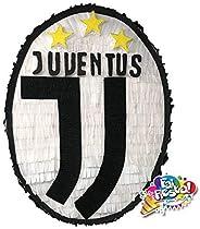 Pignatta stemma Juve (piñata, pentolaccia) Pignatta per feste di compleanno di piccoli tifosi della juventus.
