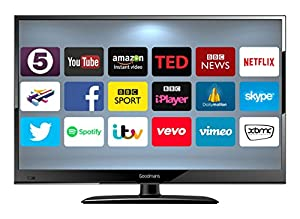 GOODMANS 24-Inch Android Smart TV - Black