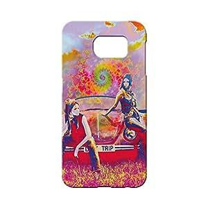 BLUEDIO Designer 3D Printed Back case cover for Samsung Galaxy S6 Edge Plus - G7092