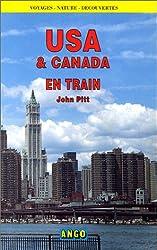 USA et Canada en train