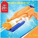 Addmos Jouets d'été, Pistolet à Eau de tir à Longue Distance et Grande Capacité pour Enfants 1.2L