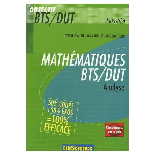 Mathématiques BTS/DUT : Analyse