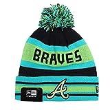 NEW ERA Bonnet bonnet D' HIVER Casquette Unisexe Oakland Raiders Yankees de New York Batman Superman Marvel etc. - Braves D'Atlanta #Z31, one size