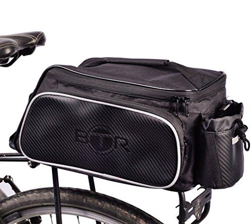 BTR-Fahrradtasche zur Befestigung am Lenker, mit abnehmbaren Schultergurt