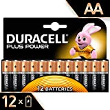 Duracell Plus Power Alkaline AA Batterien, 12er...